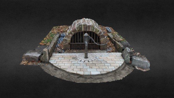 Water Pump & St Shear's Well, Levengrove Park 3D Model