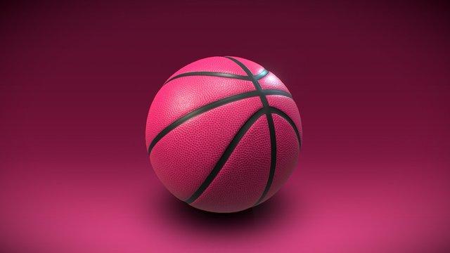 Dribbble Basketball 3D Model