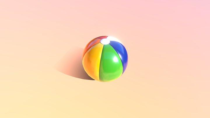 Beach Ball (Free Download) 3D Model