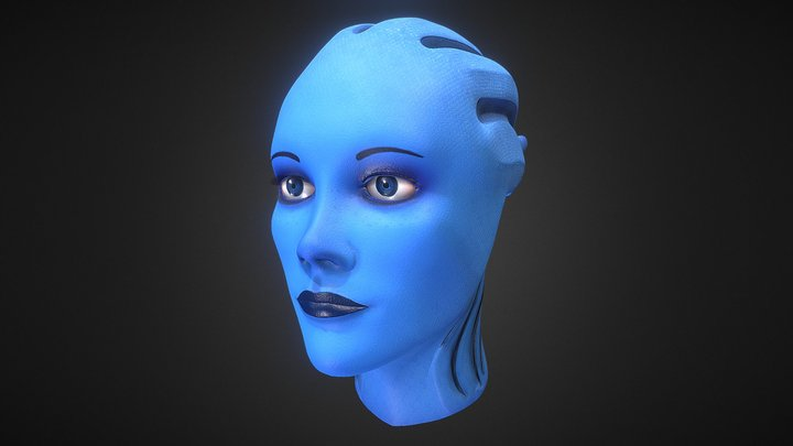 Liara's Head 3D Model