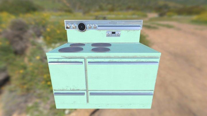 Cooker M02 V006 3D Model