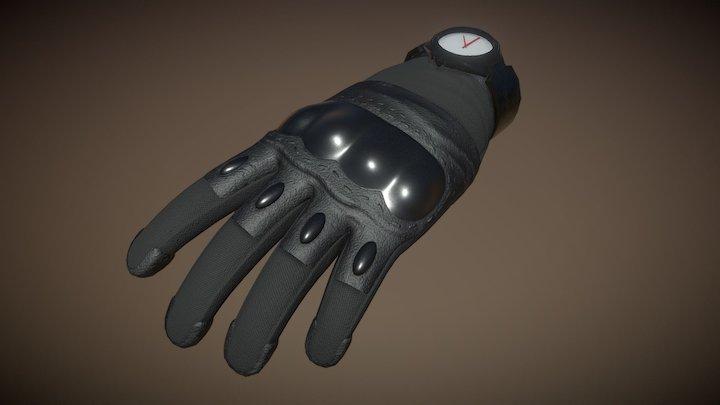 VR Tactical Hand 3D Model
