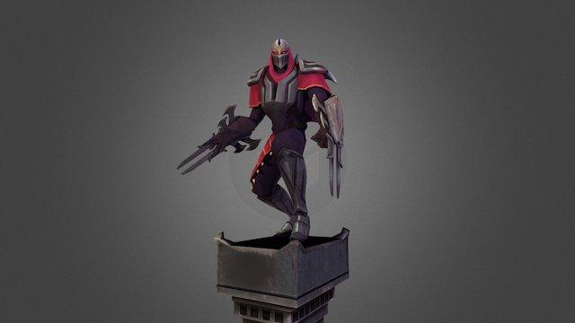 ZED, Master of Shadow 3D Model
