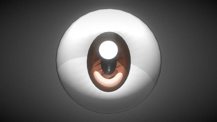 Eye (Anime/Cartoon Style) 3D Model