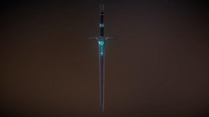 Sword Low poly 3D Model