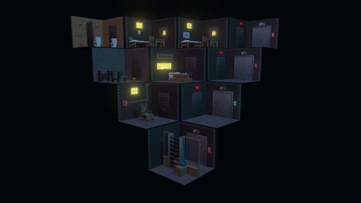 La Prisión / The Prison 3D Model