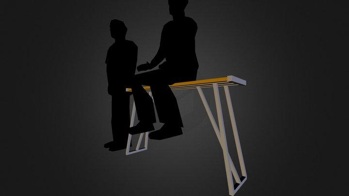 kitchen-bench 3D Model