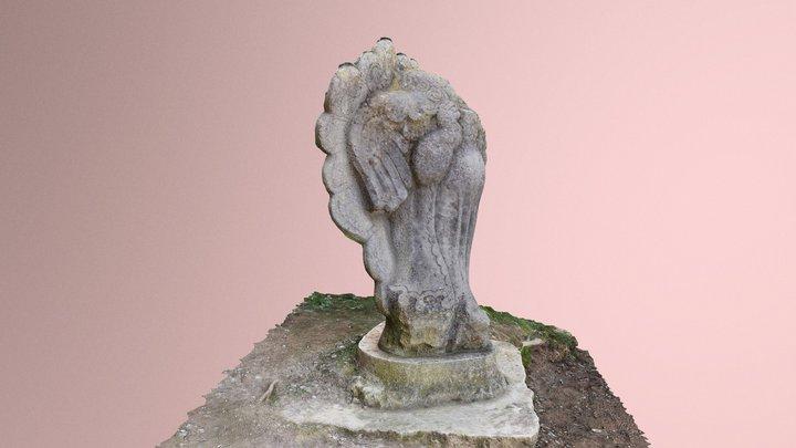 Escultura de La Majordoma, Girona 3D Model