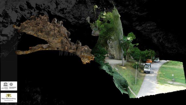 Hohle Fels / Hohle Fels cave 3D Model