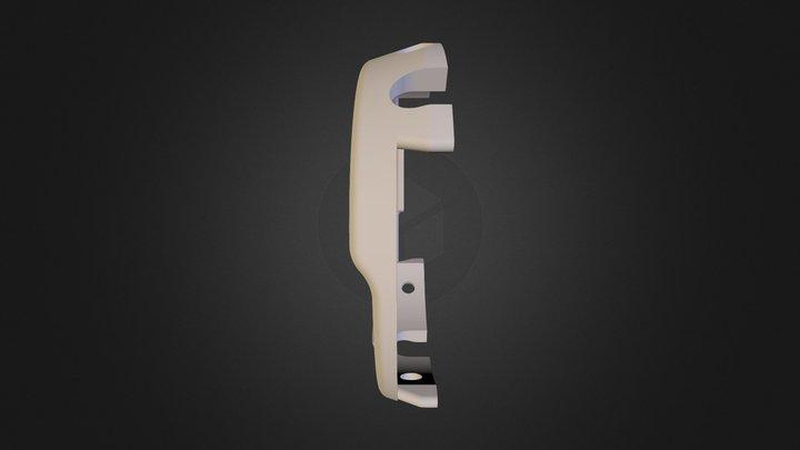 Shroud plastic med rundinger ver10 3D Model