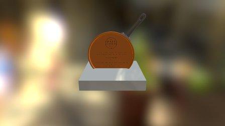 Julia Child Award 3D Mock Up 3D Model