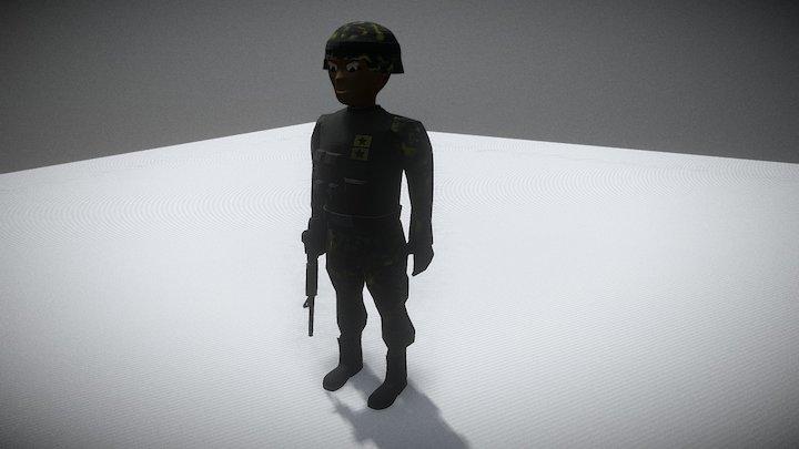 Marine 3D Model