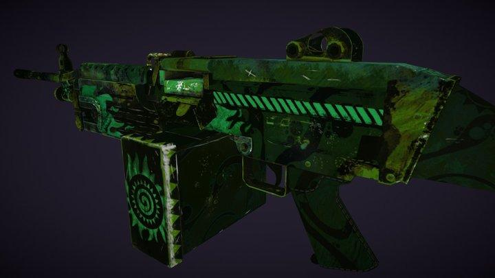M249 | Sunrise Warrior 3D Model