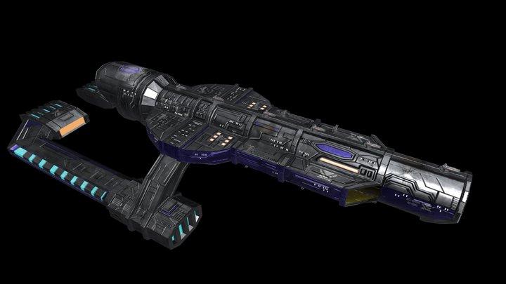 Starship-EDF Epona 3D Model