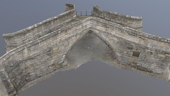 Trinity Bridge, Crowland 3D Model