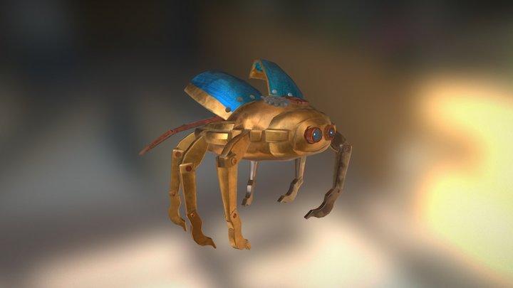 Matt the Automaton 3D Model