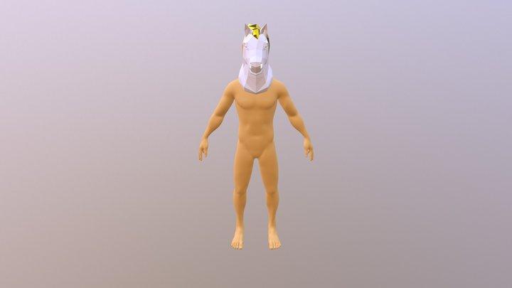Mask Horse Narine 3D Model
