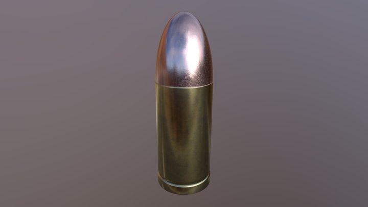 Bullet 9mm 3D Model