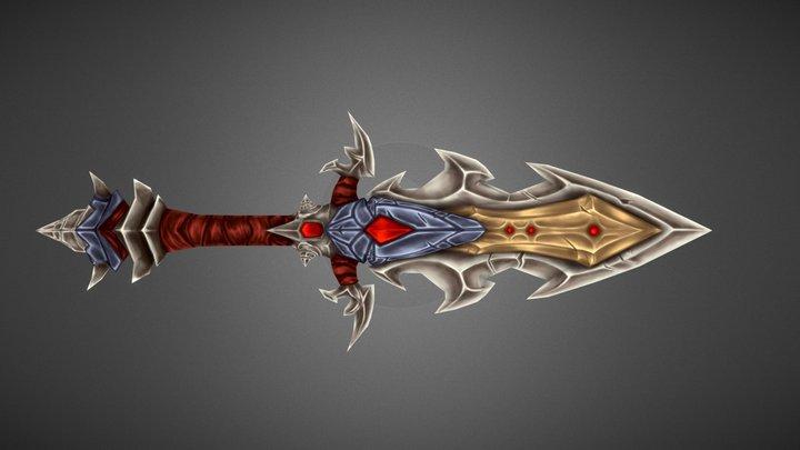 WoW Pvp Weapon - Cataclysm 3D Model