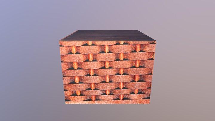 Crate02 3D Model