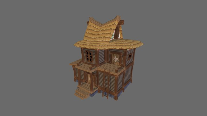 windWaker_houseB 3D Model