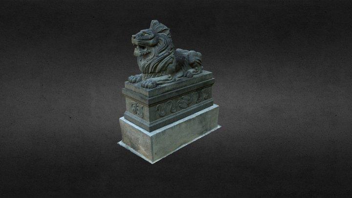 Nai Wai Village - Chinese Lion 3D Model