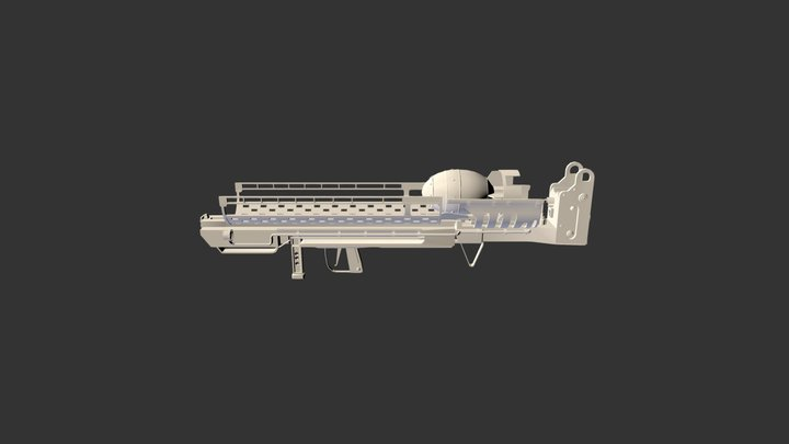 Fat Man M 45 3D Model