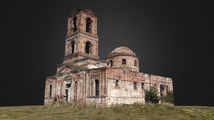 Church - Abandoned 3D Model