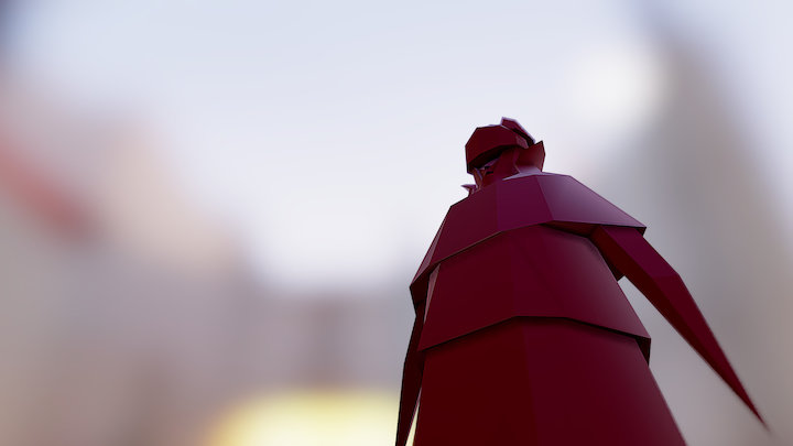 Palace Guard 3D Model