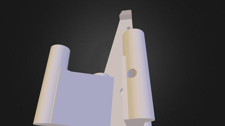 Xwing body 3D Model
