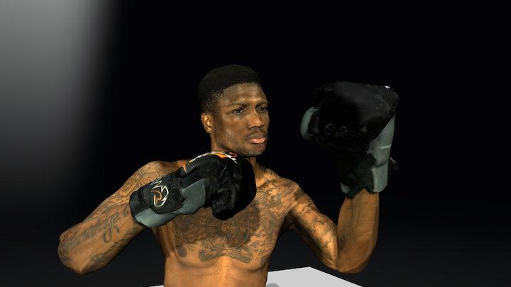 Mikael - Stonebridge Boxing (Animation) 3D Model