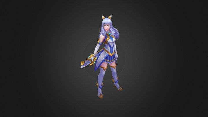 Star Guardian Ashe 3D Model