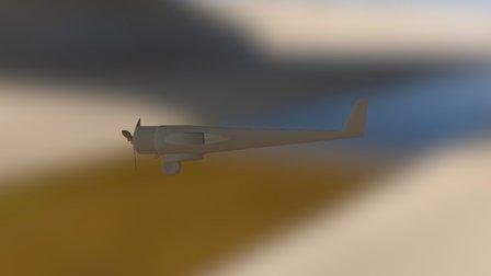 Plane 3D Model