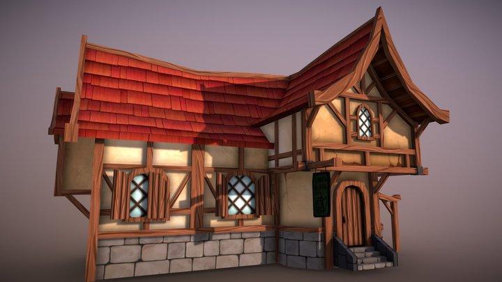Fantasy Tavern 3D Model