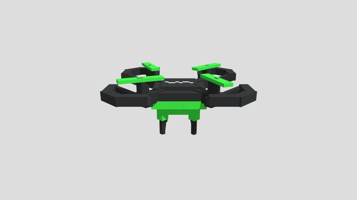 Drone F98 3D Model