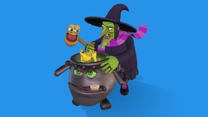 Gruntilda Winkybunion 3D Model