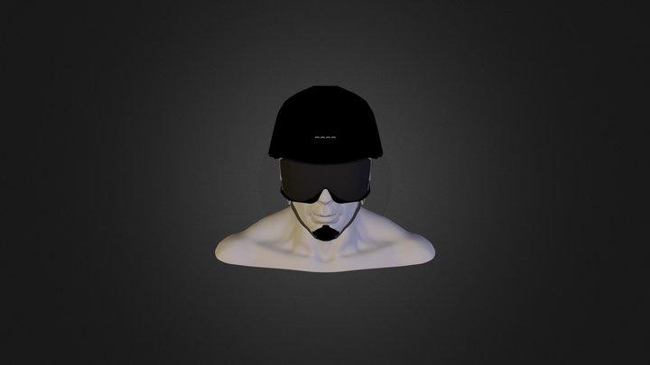 Helmet Dude6 3D Model