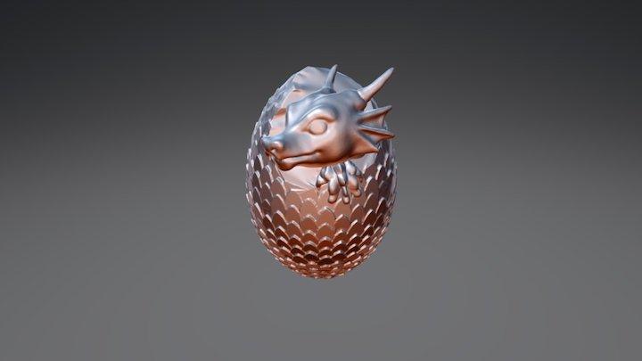 Drag Egg 3D Model
