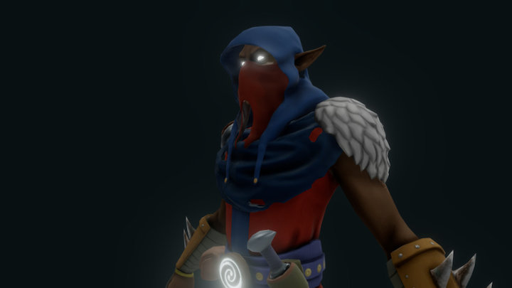 Kingslayer Mage 3D Model