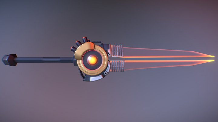 [Commission] NMW-1 Energy Blade 3D Model