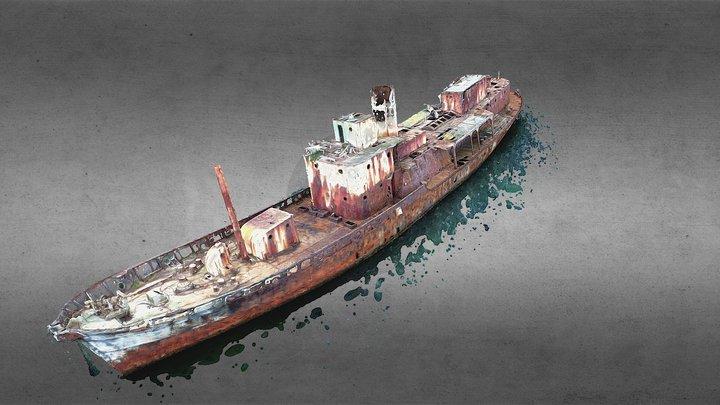 Cheynes II Shipwreck- Albany, Western Australia. 3D Model