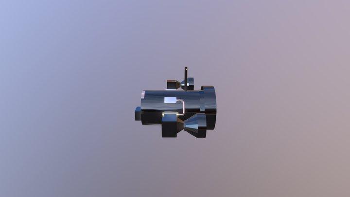 Water Drone 3D Model