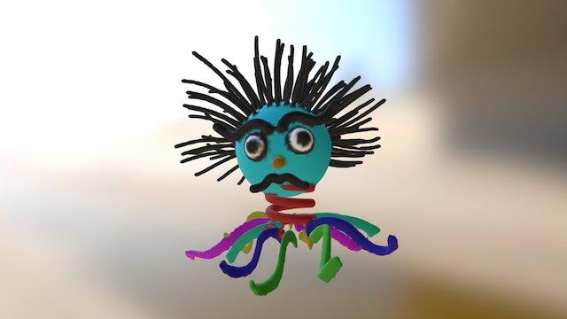 Punk Octo Dad 3D Model