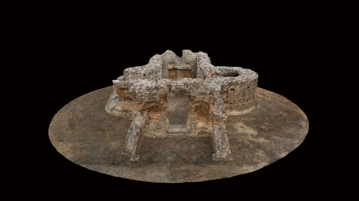 Synagogue in Sádaba (Spain) 3D Model