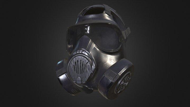 Avon Gas Mask 3D Model