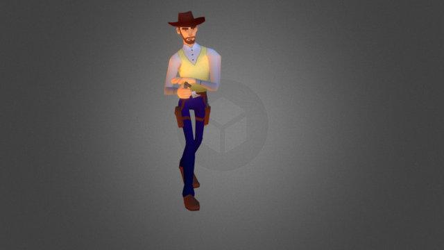Bill //Wild West Cowboys - Game// 3D Model