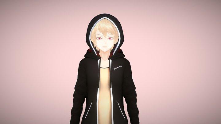 Victor V2 - Original   VRChat/Game Ready 3D Model