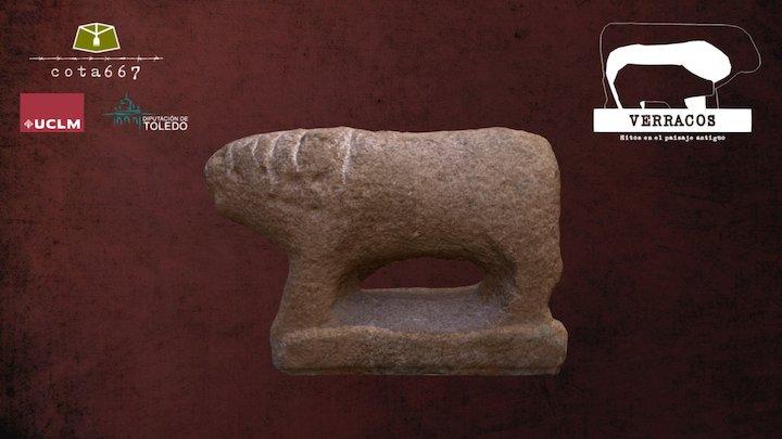 Verraco de La Puebla de Montalbán 3D Model