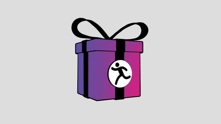 Gift Box 2019 3D Model