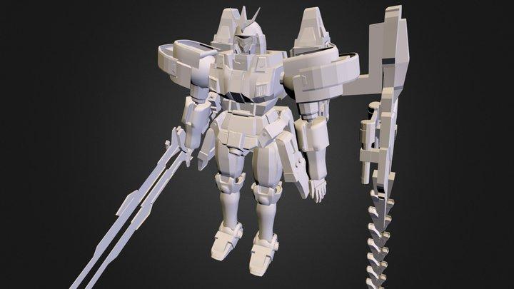 Tallgeese III 3D Model